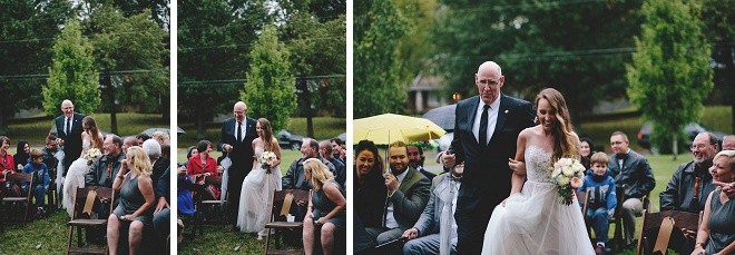 We love this fun Bride and her ceremony!