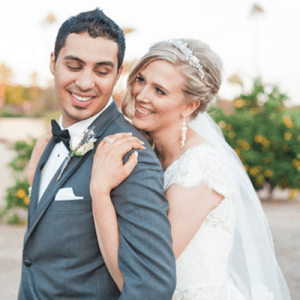 Loving this gorgeous bride and groom and their desert wedding!