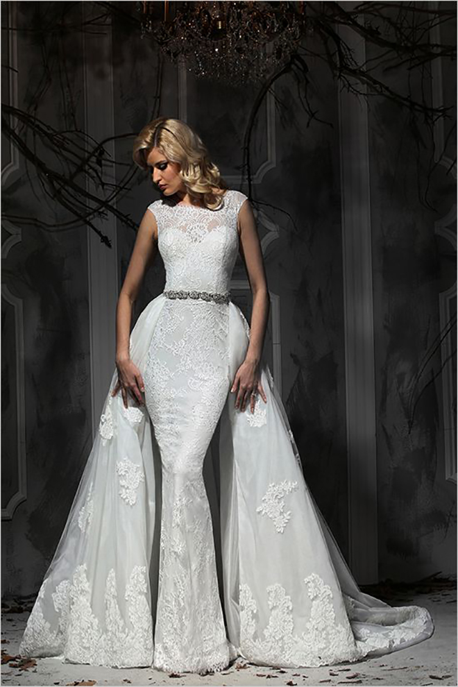 Check out these amazing convertible wedding dresses impressions bridal separate train awesome idea for a convertible wedding dress junglespirit Image collections