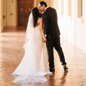 Swooning over this romantic DIY wedding!