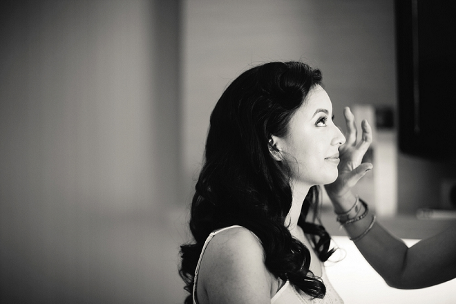 Loving these getting ready pictures from this gorgeous DIY bride!