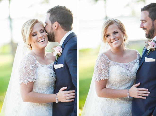Swooning over the new Mr. and Mrs. at their crafty country wedding!