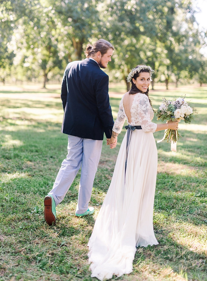 We are in LOVE with this dreamy boho chic wedding!