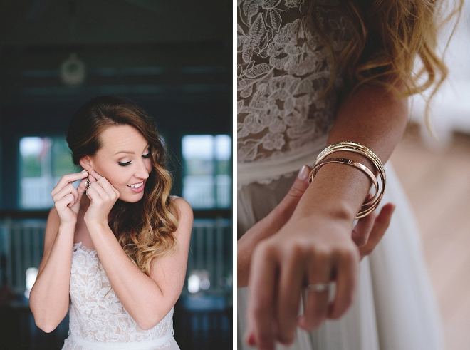 We love this darling details from Shea's DIY wedding!