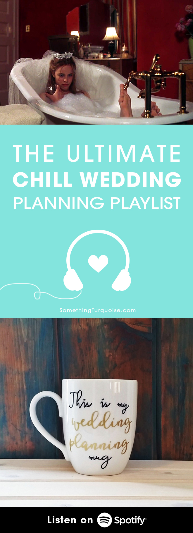 The BEST playlist for keeping chill while planning your wedding!