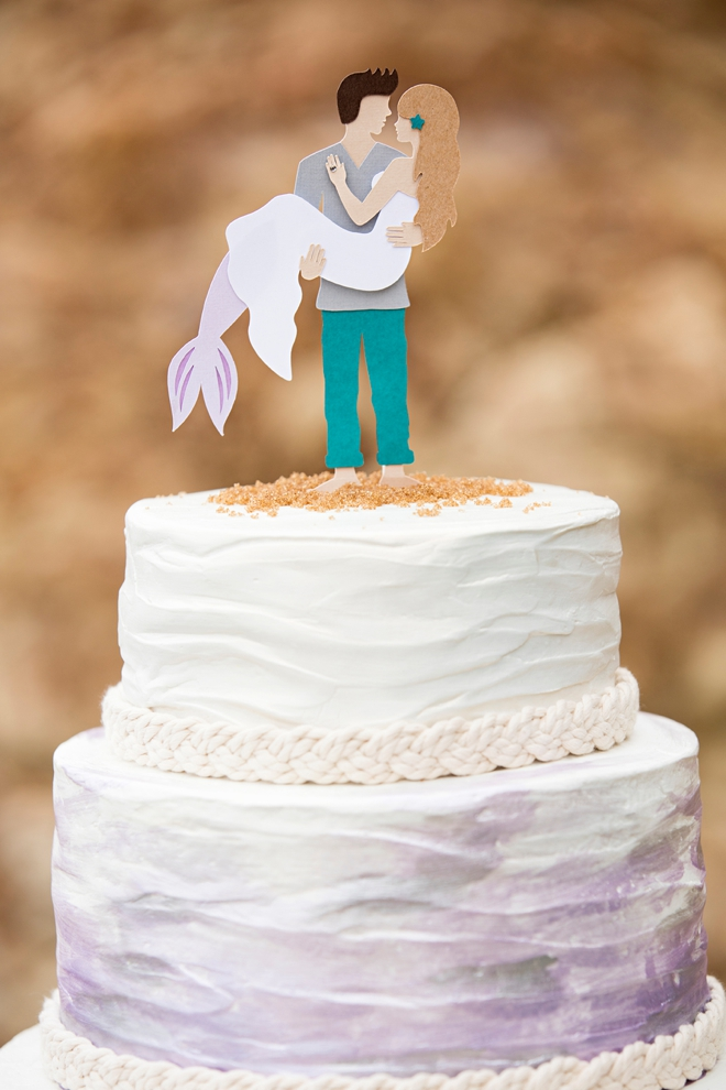 How To Make A Cake Topper Out Of Cardstock