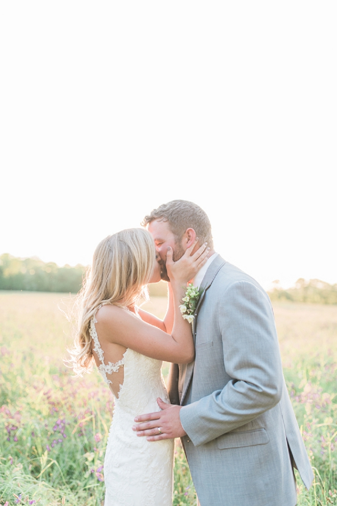 We'e in LOVE with this dreamy Mr. and Mrs. and their stunning Nashville wedding!