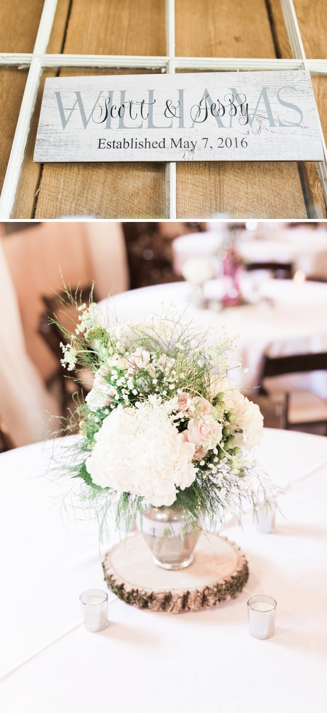 We love the sweet blush details at this stunning Nashville wedding!