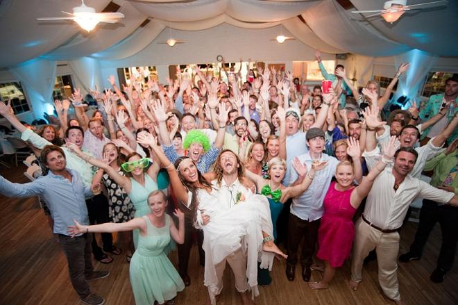 So fun! Love this darling couple and their fun boho wedding!