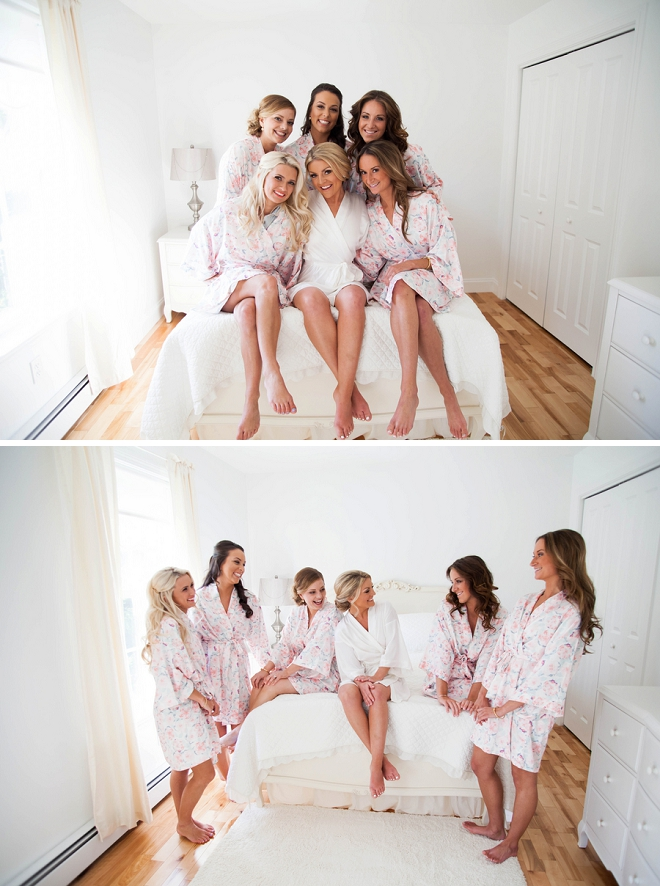How cute is this picture of the Bride and her Bridesmaids?! Love!