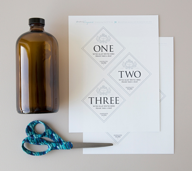 These free printable growler table numbers are awesome!
