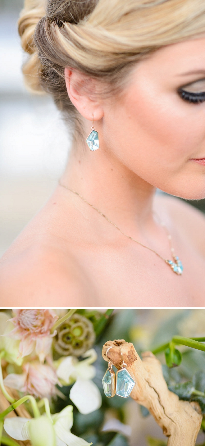 Gorgeous details for this stunning styled coastal wedding!