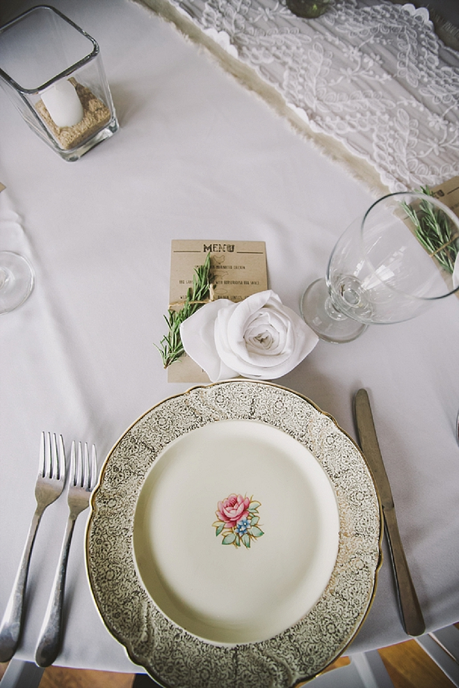 SO many stunning details at this gorgeous lakeside wedding!
