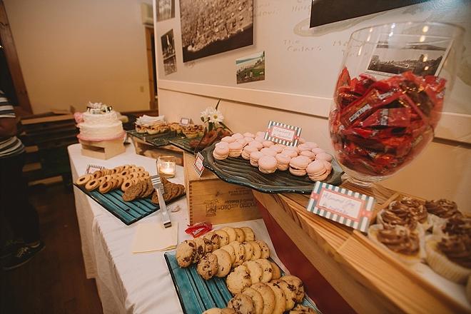 We love this darling dessert bar!