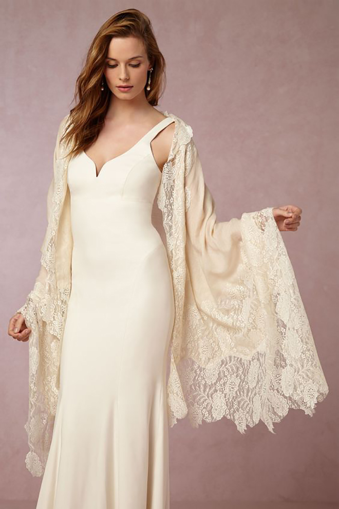 a lovely and sophisticated lace cover up.