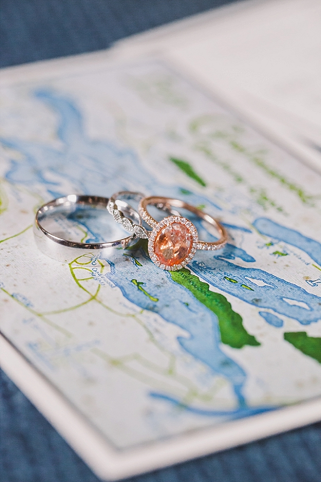 How stunning is this gorgeous blush diamond ring shot?! LOVE!