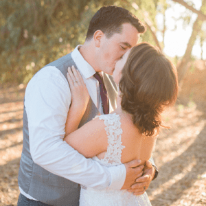 We're crushing over this stunning handmade wedding!