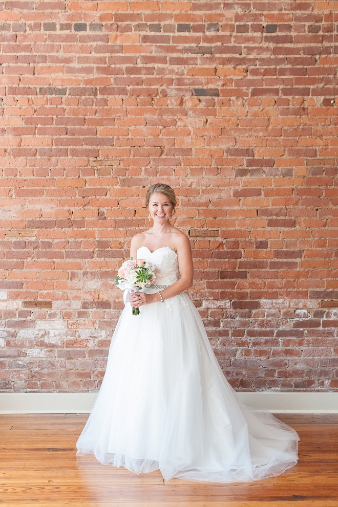 We love this brides stunning dress!