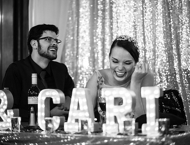 Nothing better than ending the wedding laughing!