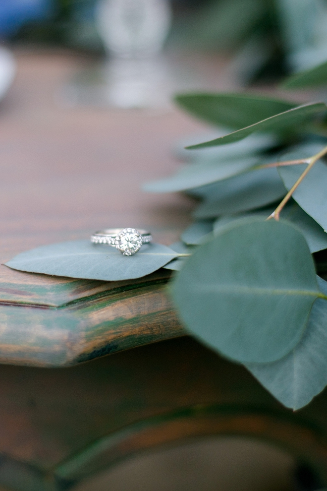 This ring shot is simple and stunning!