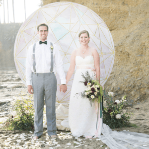 Swooning over this gorgeous styled anniversary shoot!