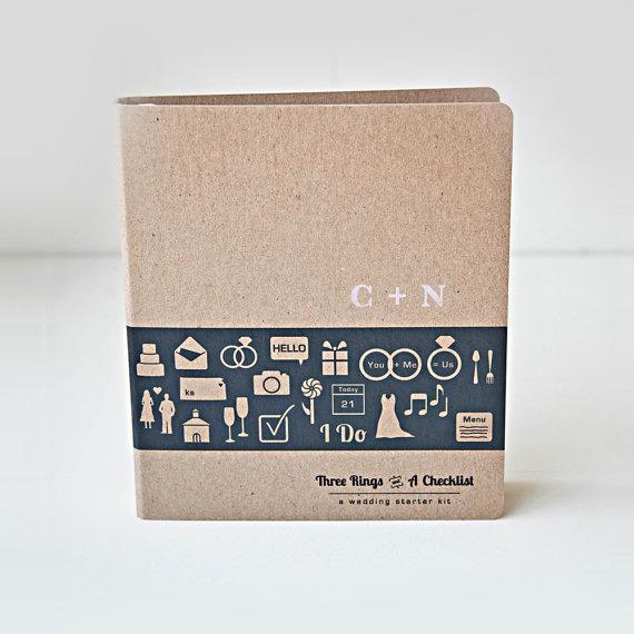 We love this gorgeous wedding planning binder!