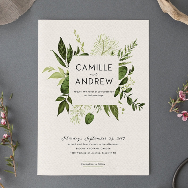 Best Wedding Invitations Cards: Our Top 20 Swoon-Worthy Wedding Invitations From Etsy