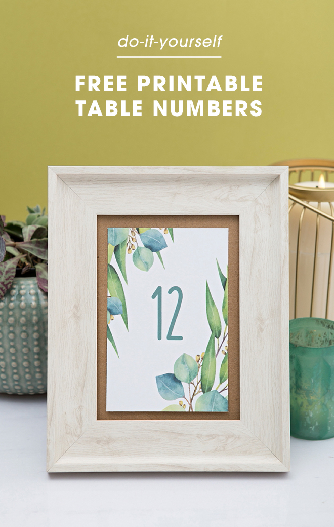 Zany image with free printable table numbers 1-20