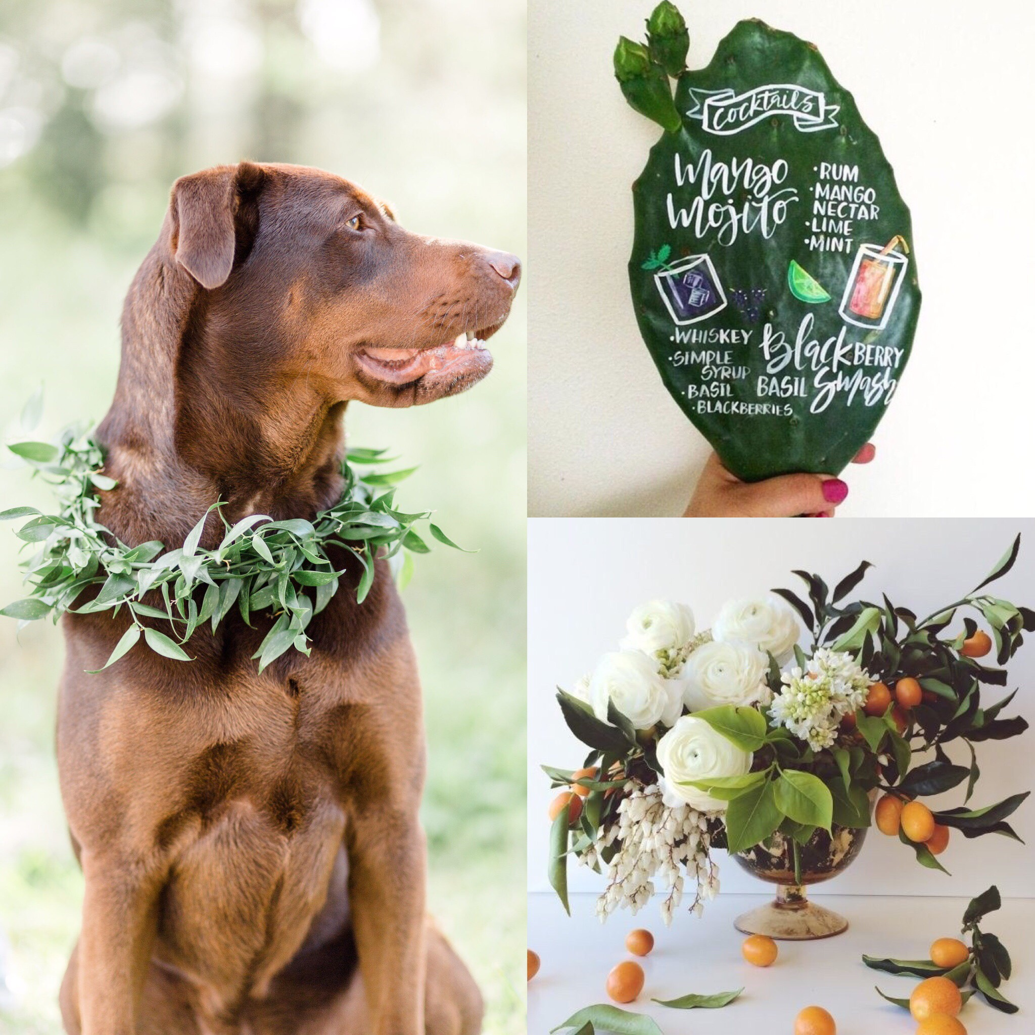 Gorgeous greenery ideas for your wedding day!