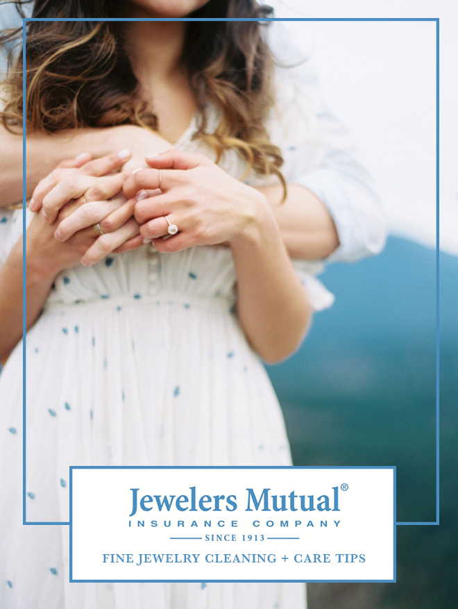 Awesome fine jewelry cleaning and care tips from Jewelers Mututal!