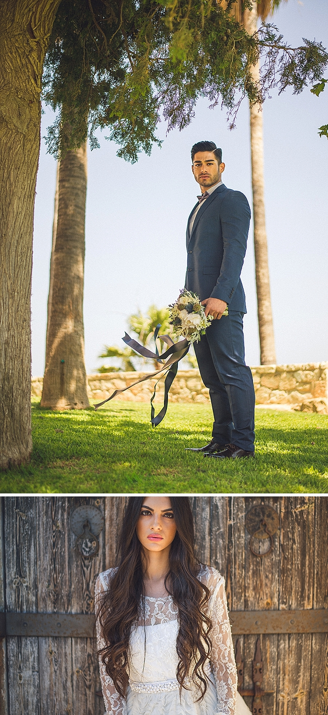 We are in LOVE with this gorgeous styled wedding!