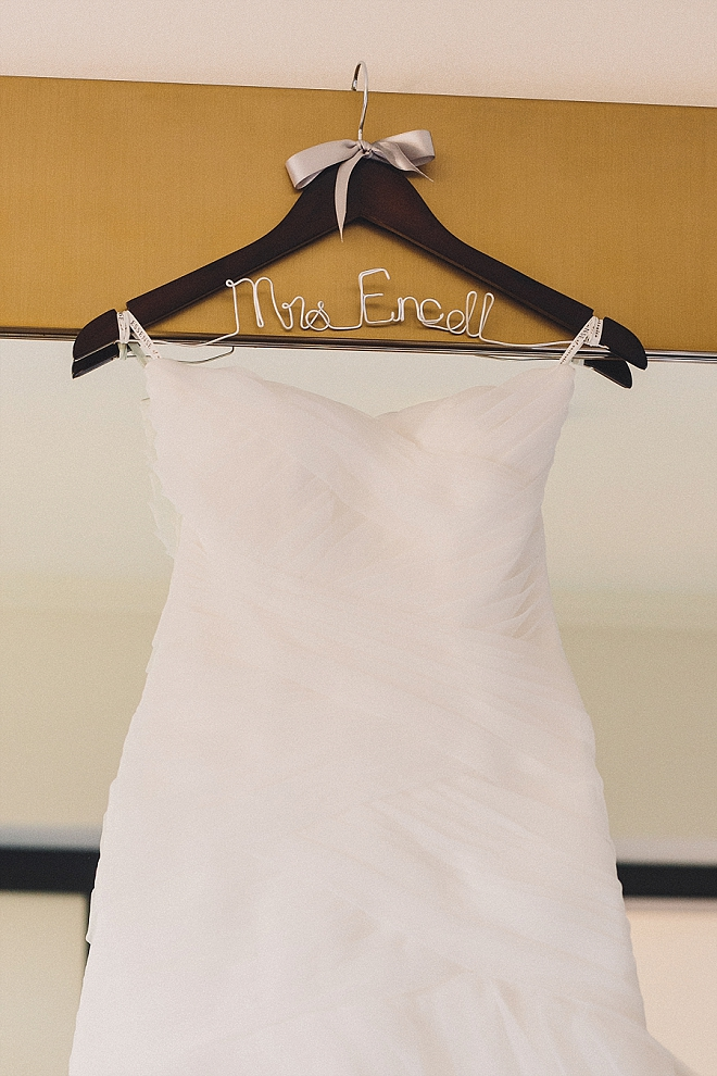 We LOVE this Bride's darling wedding day details!