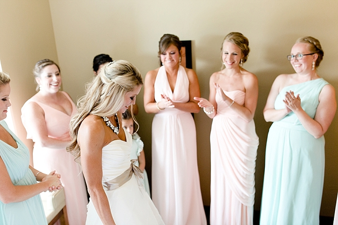 This Bride and her Bridesmaid's getting ready for the big day!