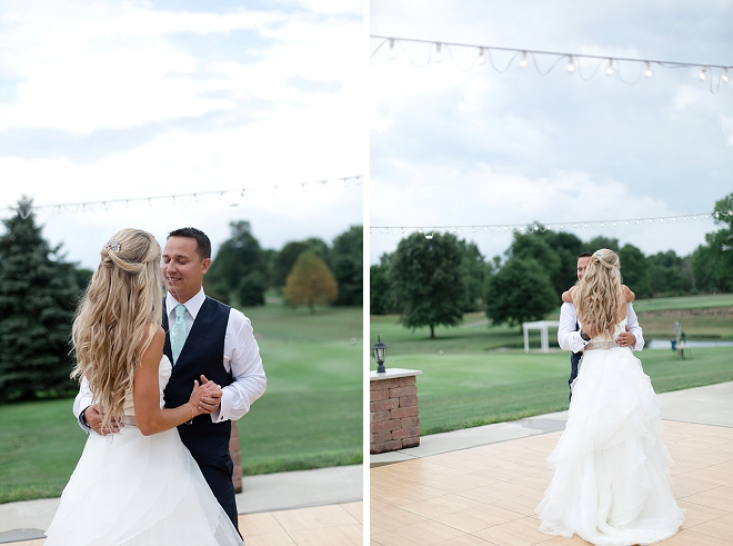 First dance as Mr. and Mrs! Swoon!