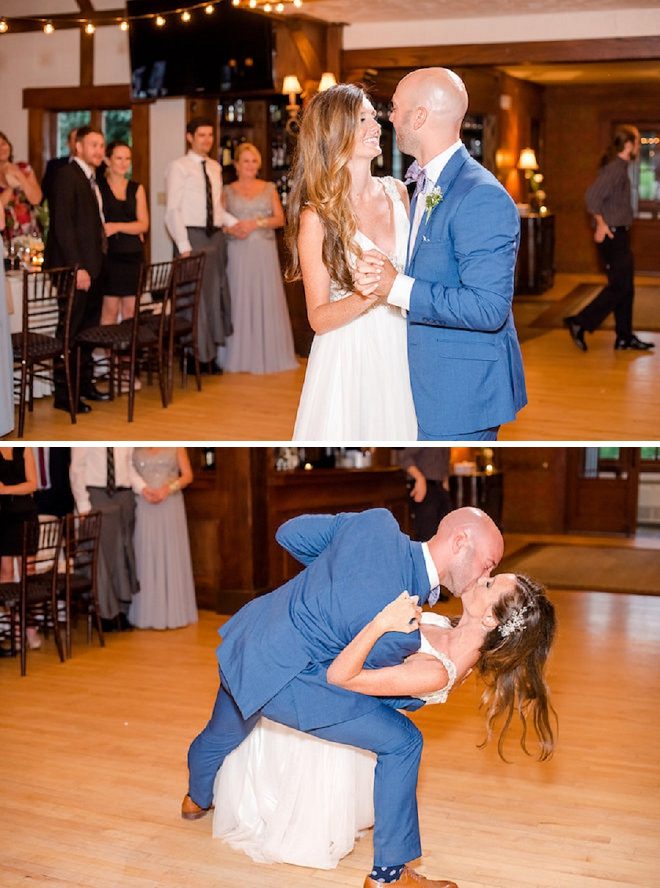 First dance as Mr. and Mrs. - too cute!