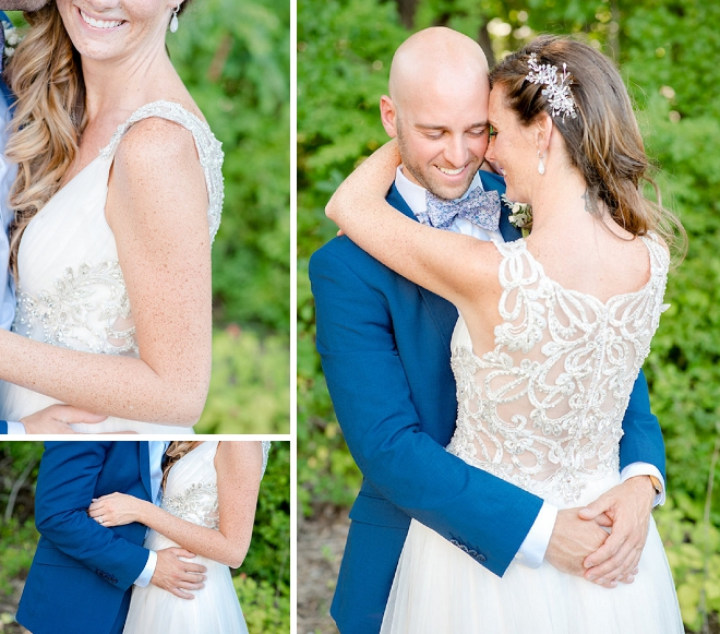 We can't get over this AMAZING and sweet first look!