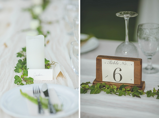 SO many gorgeous details at this stunning Hawaii reception!