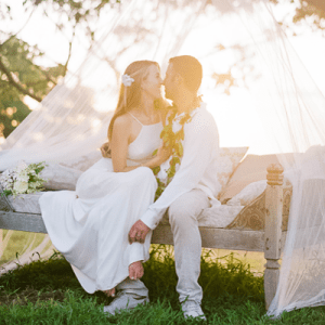 Swooning over this dreamy destination wedding!