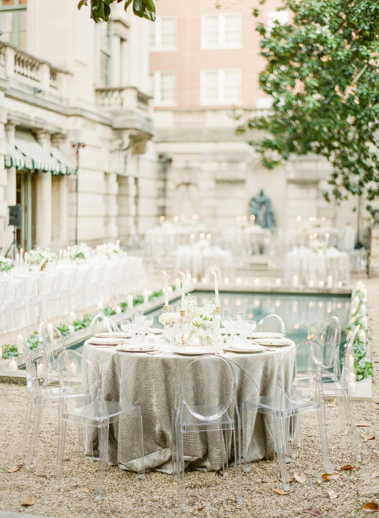 This luxury poolside wedding is all sorts of gorgeous.