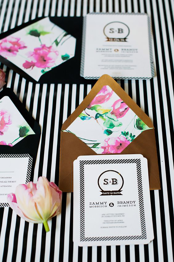 You're invitation is a great place to introduce your guests to your logo.