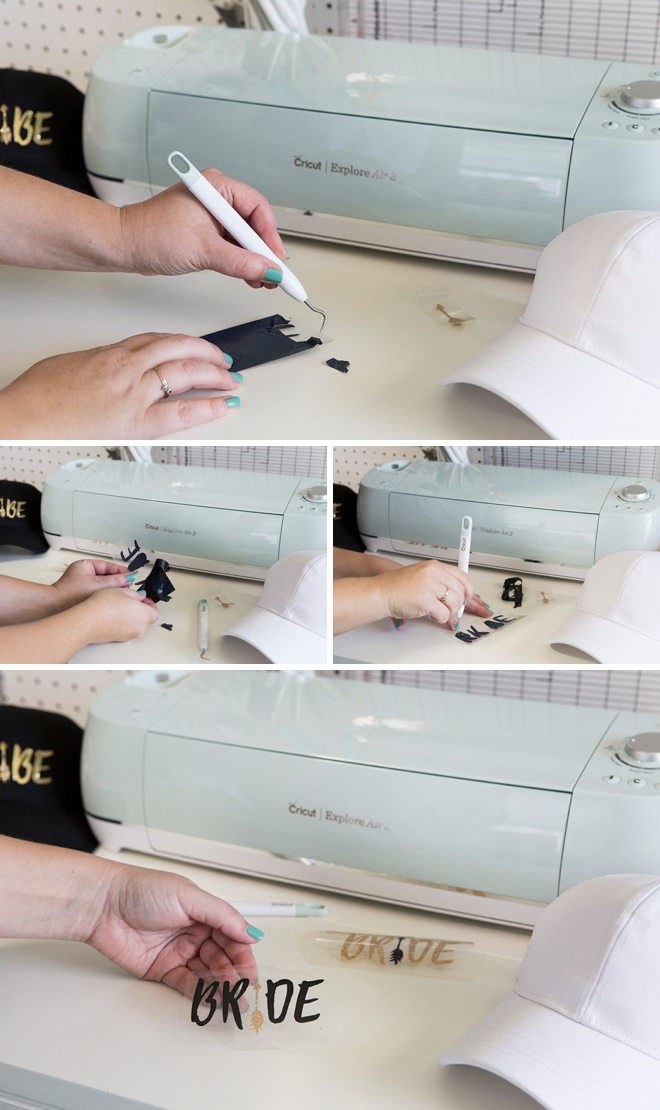 How to use an embossing gun to do an iron-on project!