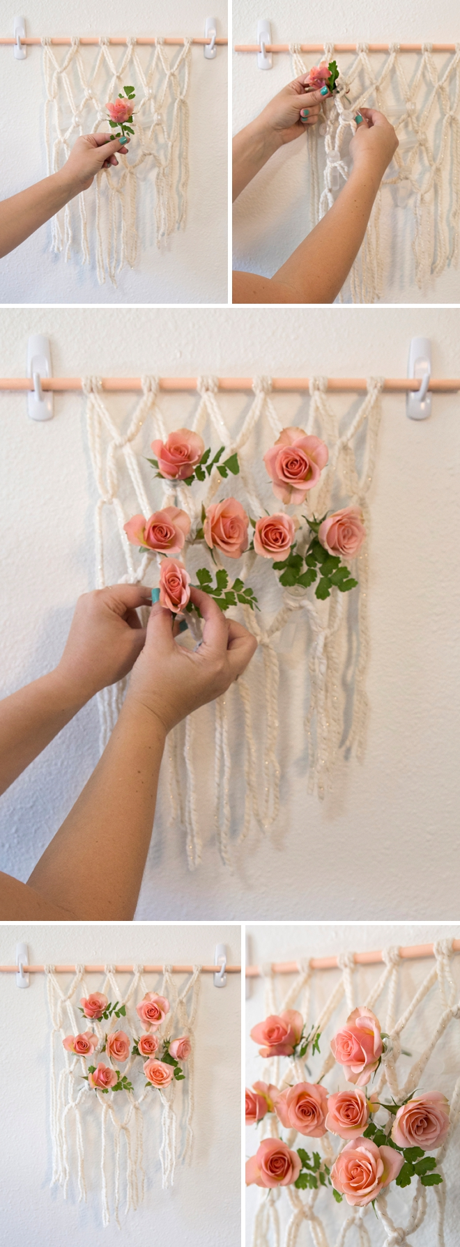 You Have To See This Diy Macram 233 Flower Reception Chair