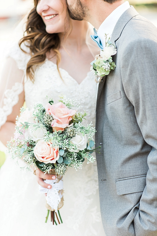 We're in love with this super dreamy and crafty wedding!