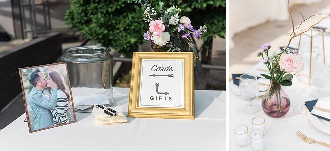 Darling DIY signage at this gorgeous Atlanta wedding!