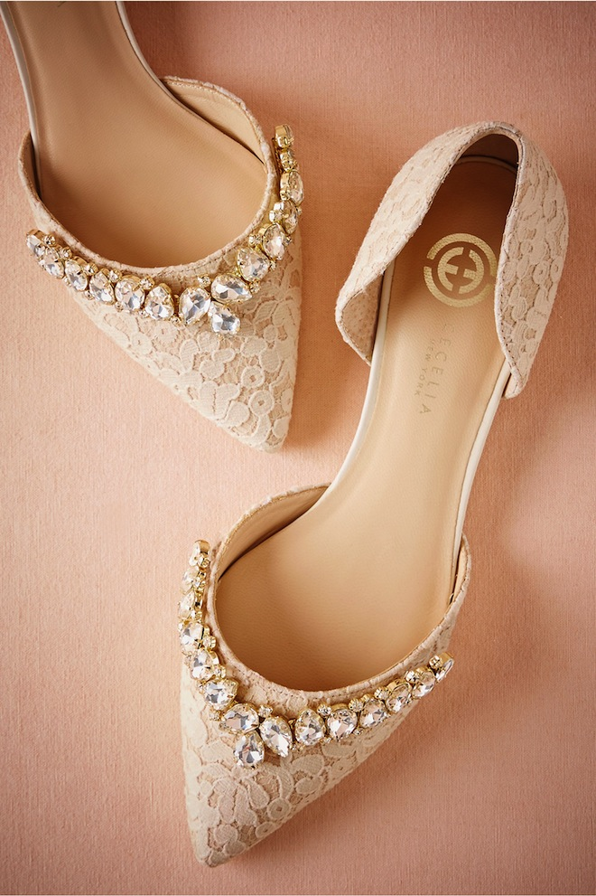 Seriously the best bridal flats you will find for Flat dress sandals for weddings