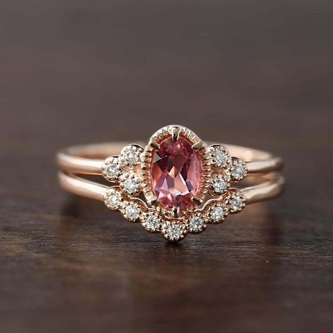 You Have To See These Stunning Alternative Wedding Rings