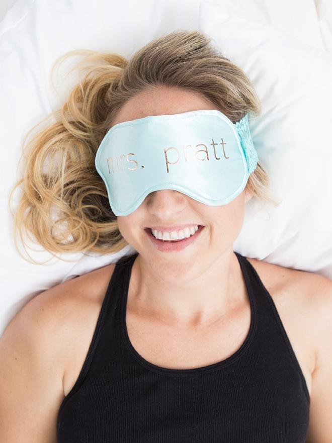 OMG, these are the cutest DIY sleep masks ever!