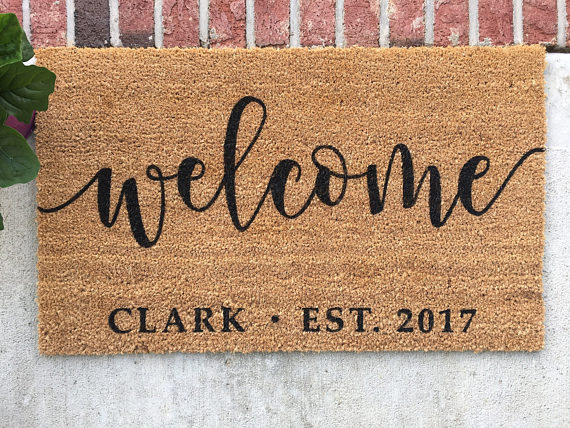Looking for a great doormat? This is it!