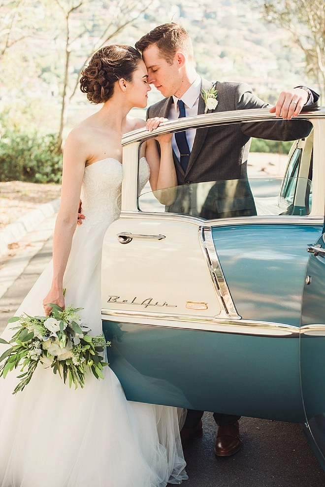 One of our favorite Bride and Groom shots!