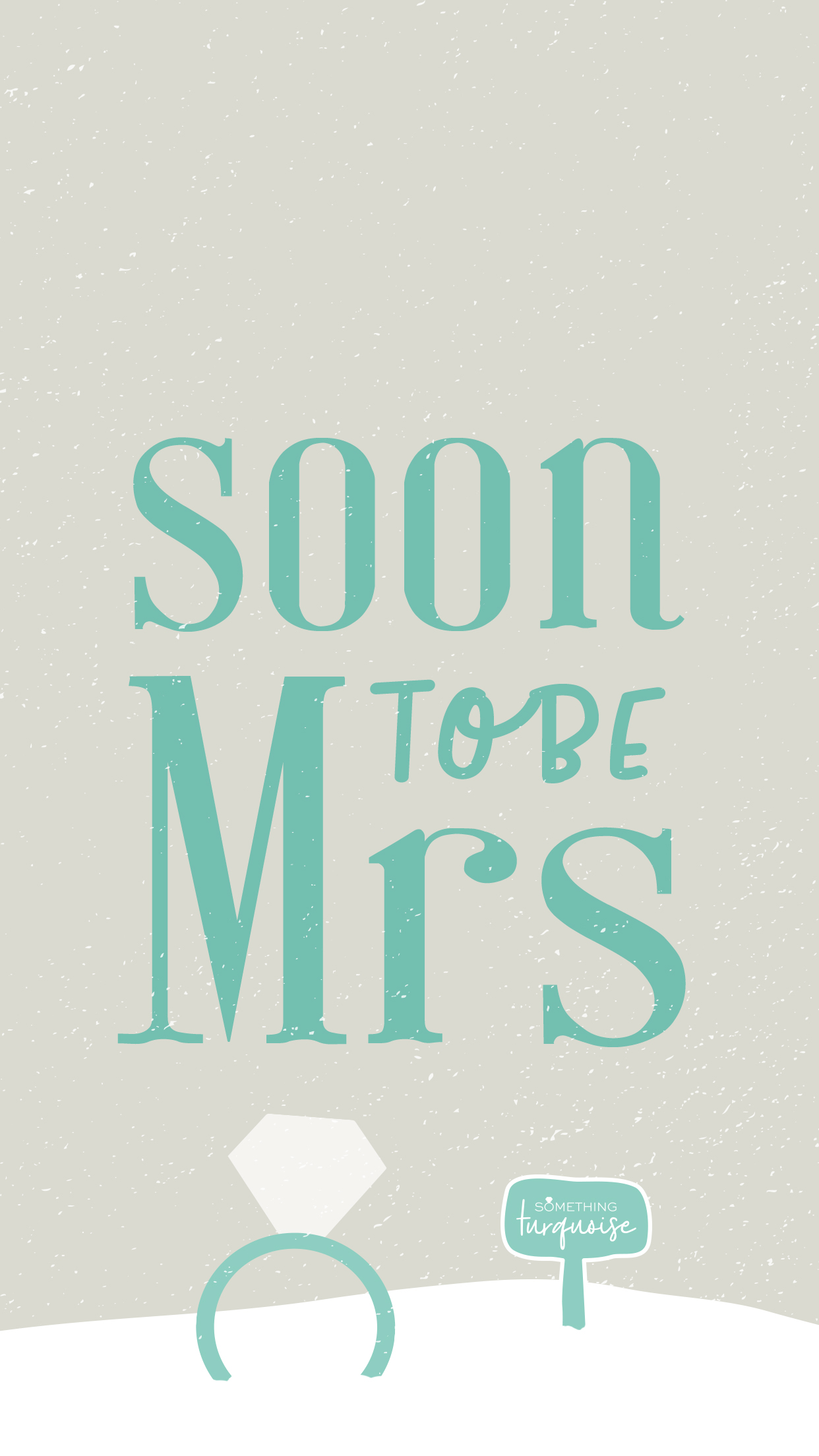 Free IPhone Wallpapers For The Newly Engaged Bride